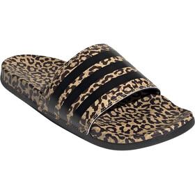 adidas Adilette Comfort Slides Women haze beige/core black/cardboard